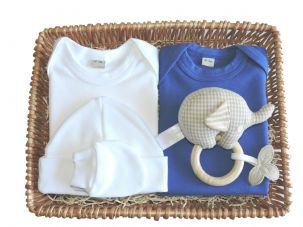 Little Boy Blue Budget Baby Gift Basket